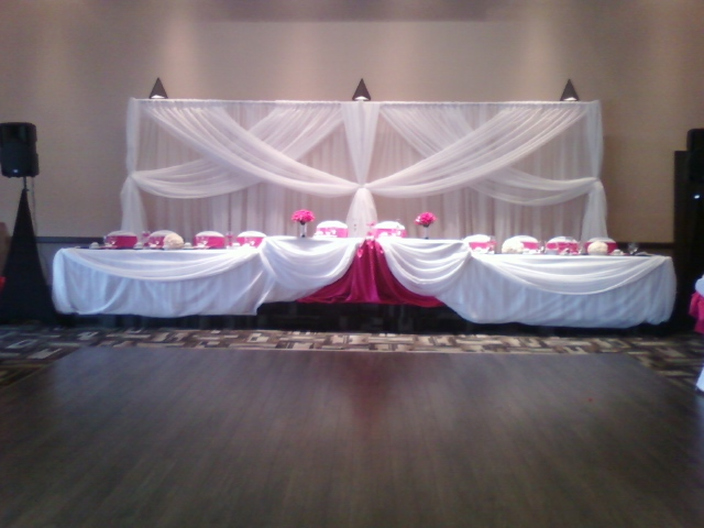 Set the mood decor for all of your decor and flower - Pink and white decorations ...