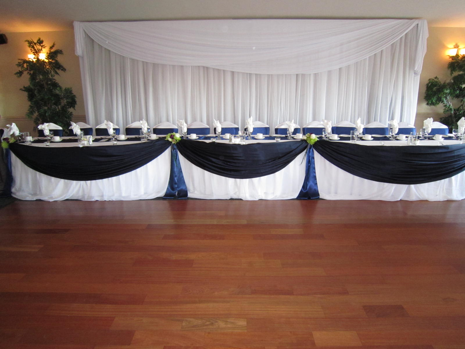 Navy Blue And Lime Green Wedding Decor Set The Mood Decor