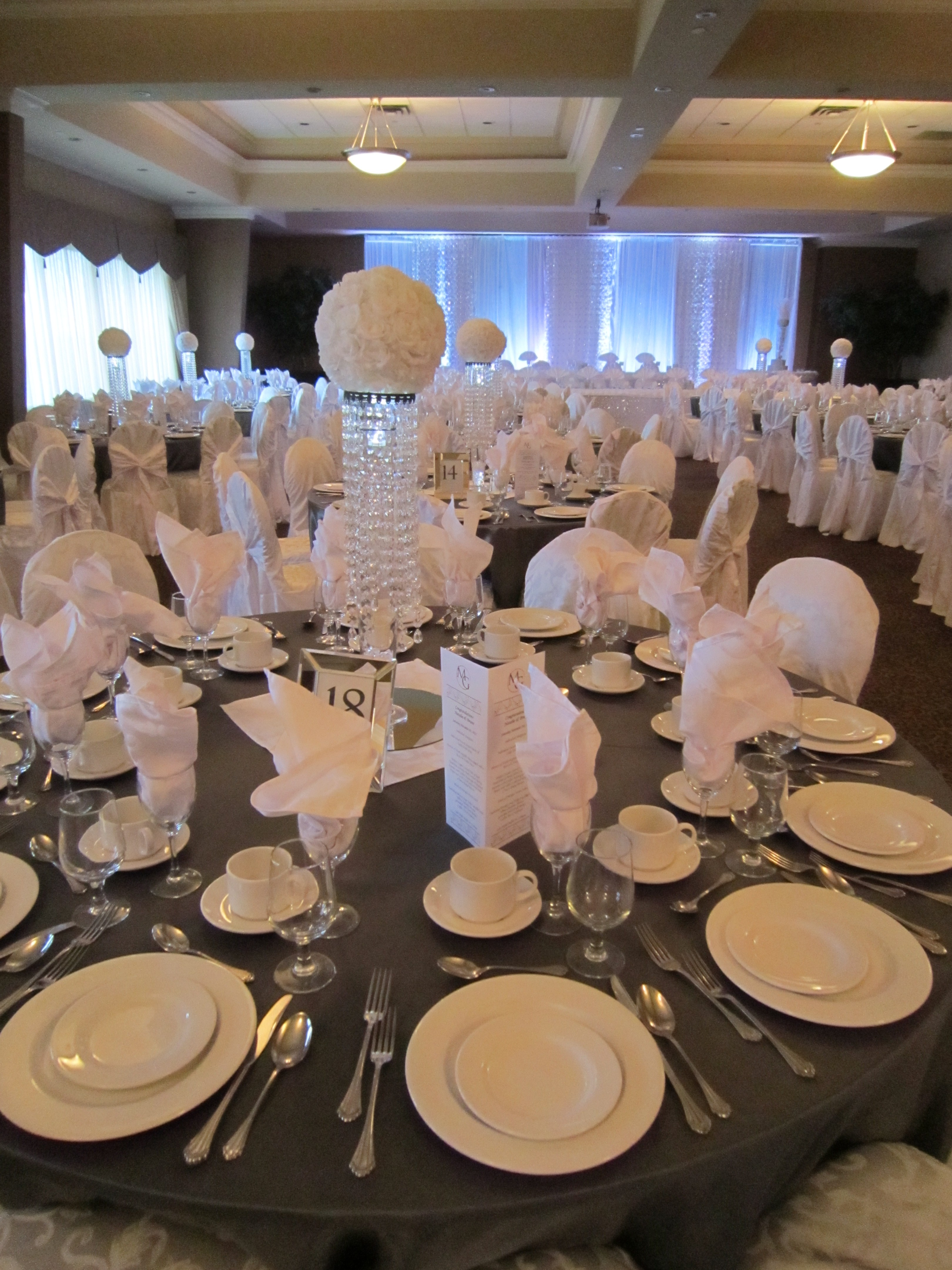 Crystal Centerpieces Set The Mood Decor Page 2