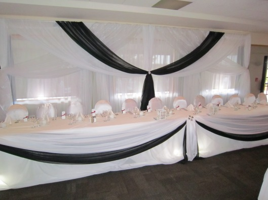 Niagara Falls Wedding Decor