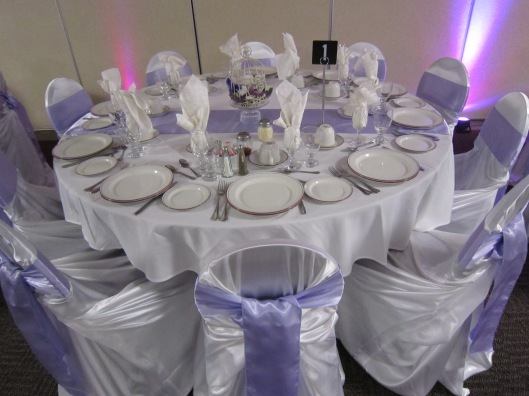 Niagara Wedding decor