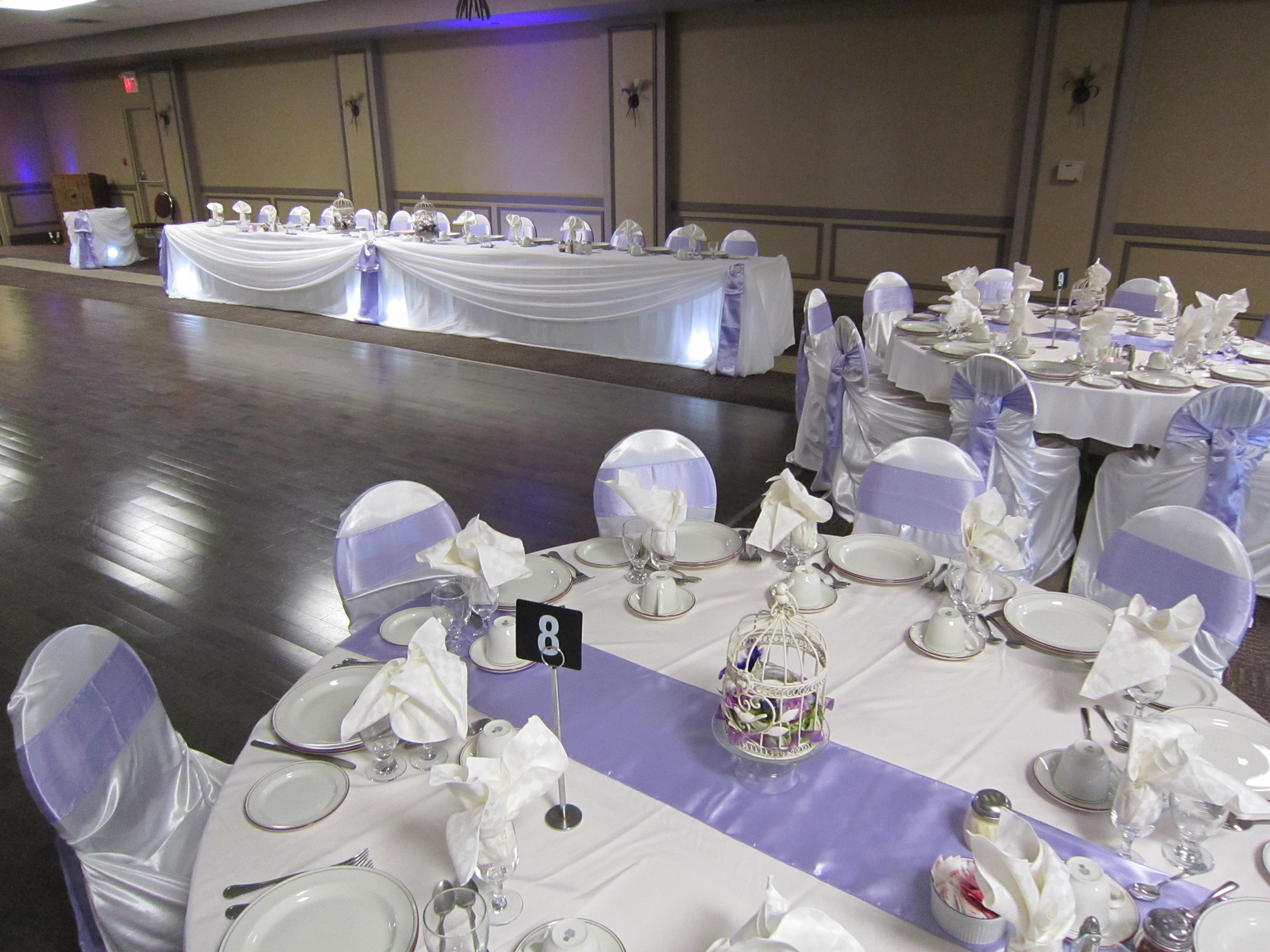 lavender wedding | Set The Mood Decor