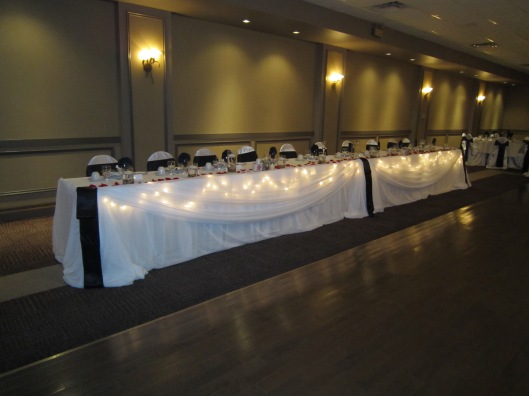 niagara wedding decorator
